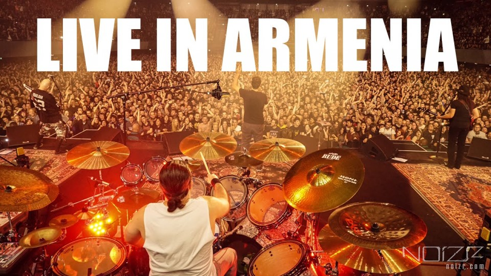 Live in Armenia — System Of A Down: live videos from show in Armenia