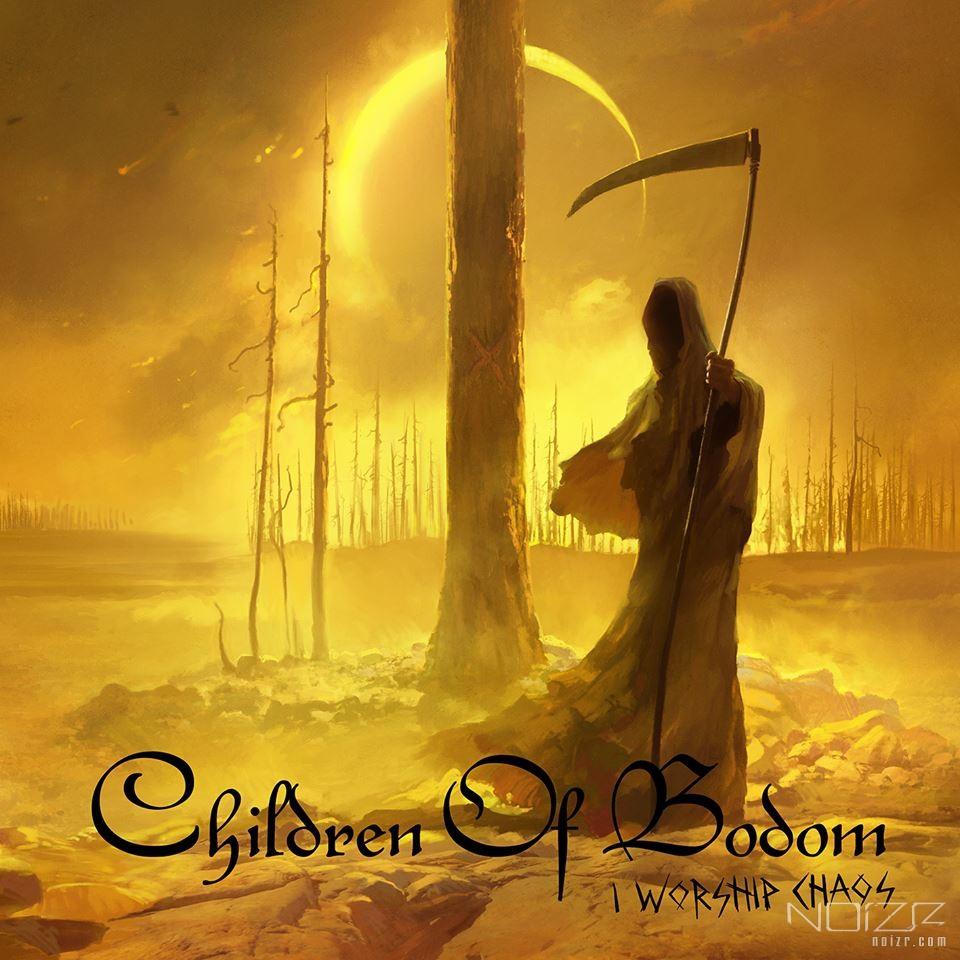 "Children of Bodom show their new album ""I Worship Chaos"" cover art"