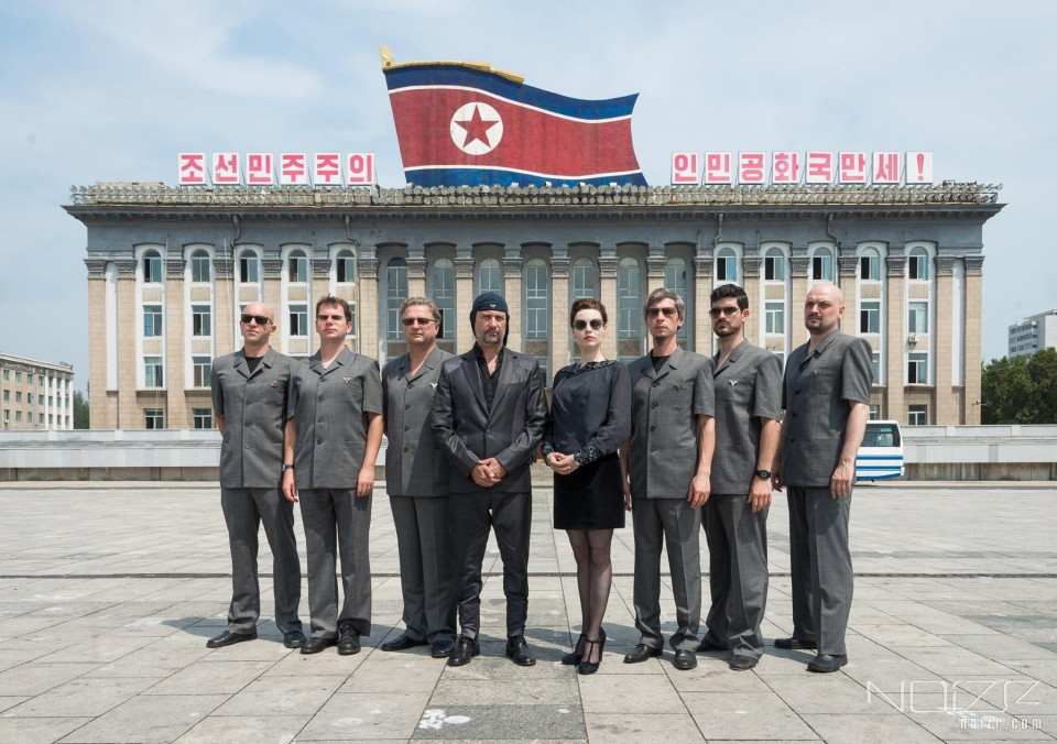 Photo by Joerund F. Pedersen — Video and photos from Laibach's performance in North Korea