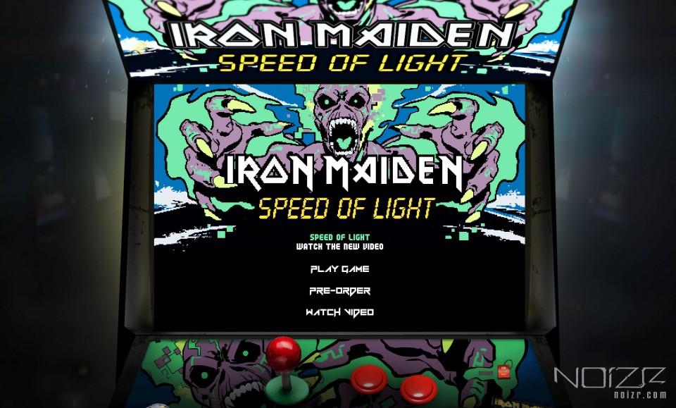 Iron Maiden представили игру по мотивам видеоклипа