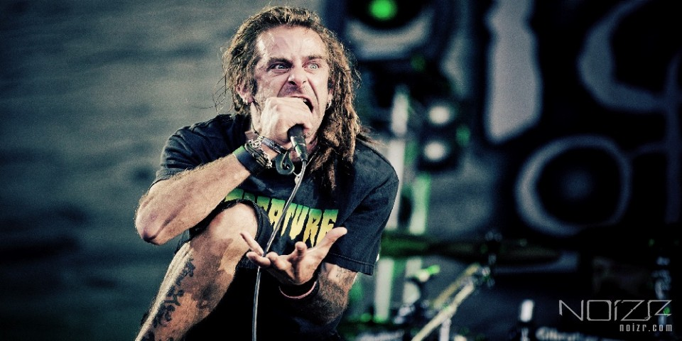 Randy Blythe — Lamb of God's vocalist was attacked by hooligans in Ireland
