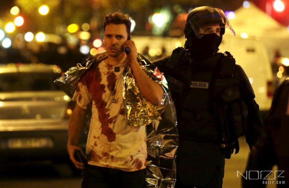 REUTERS/Philippe Wojazer — Gunmen attacked several locations in Paris, including Eagles of Death Metal show