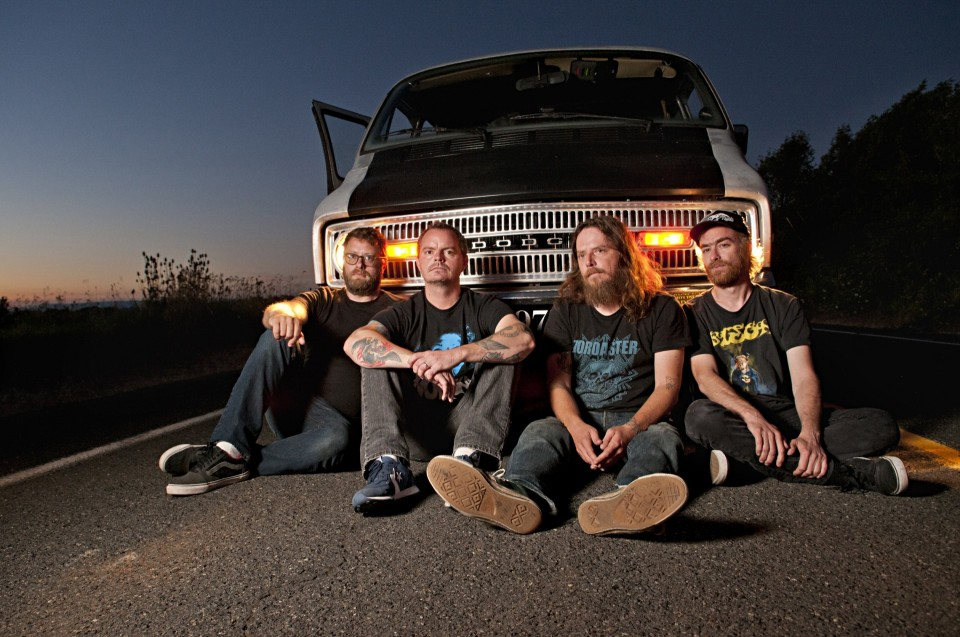"Red Fang ""Whales and Leeches"" press photo 2013 — Red Fang to release new album this fall"