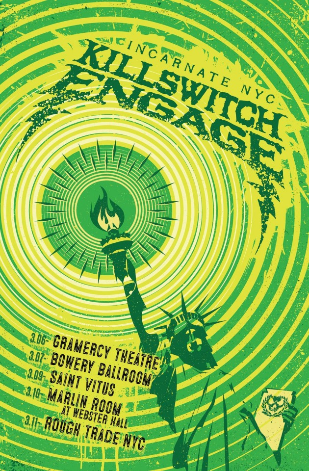 Killswitch Engage tour dates New York