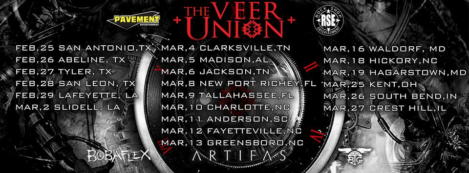 The Veer Union Tour Dates