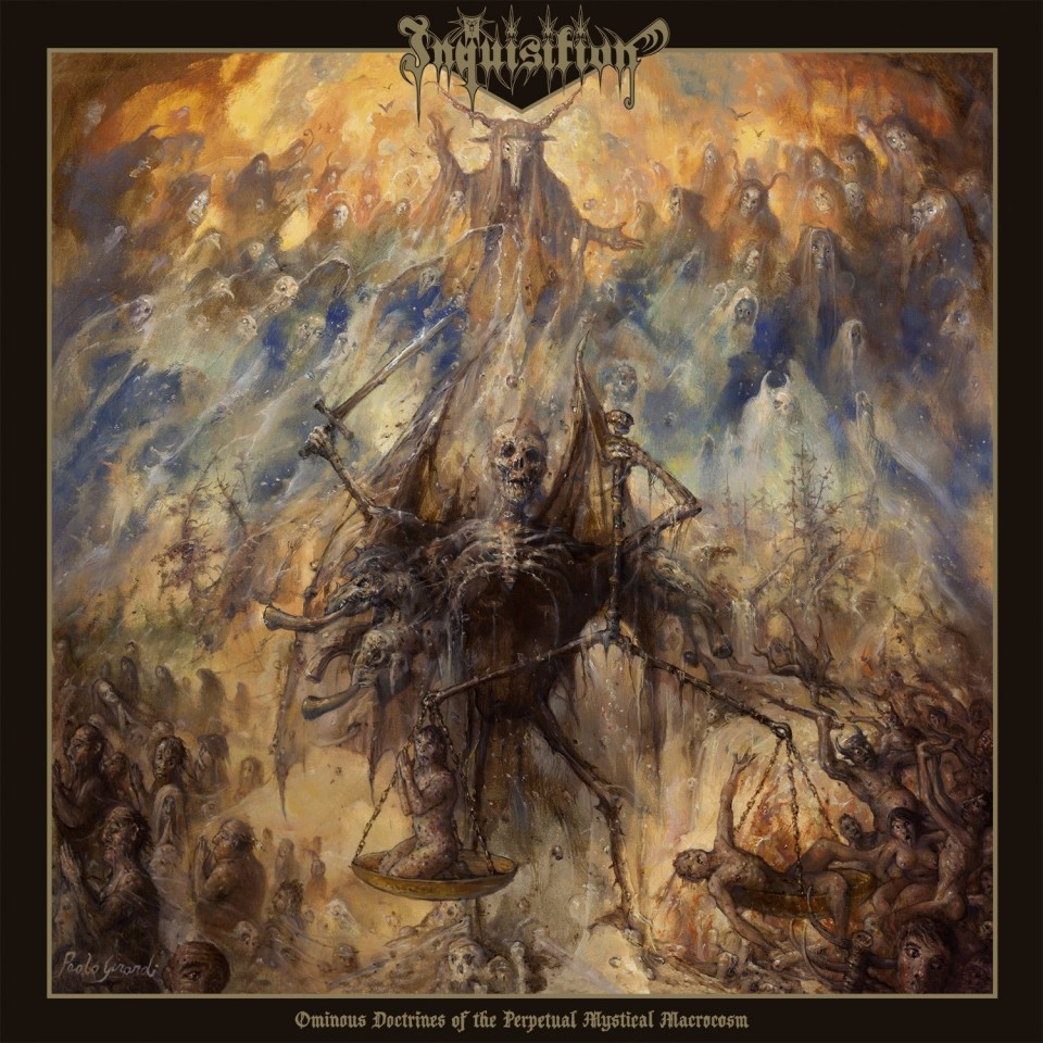 """Inquisition unveil new cover art for """"Ominous Doctrines of the Perpetual Mystical Macrocosm"""""""