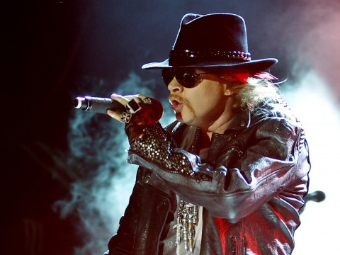 Axl Rose to join AC/DC to the end of tour