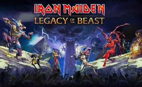 Iron Maiden launch mobile game Legacy Of The Beast