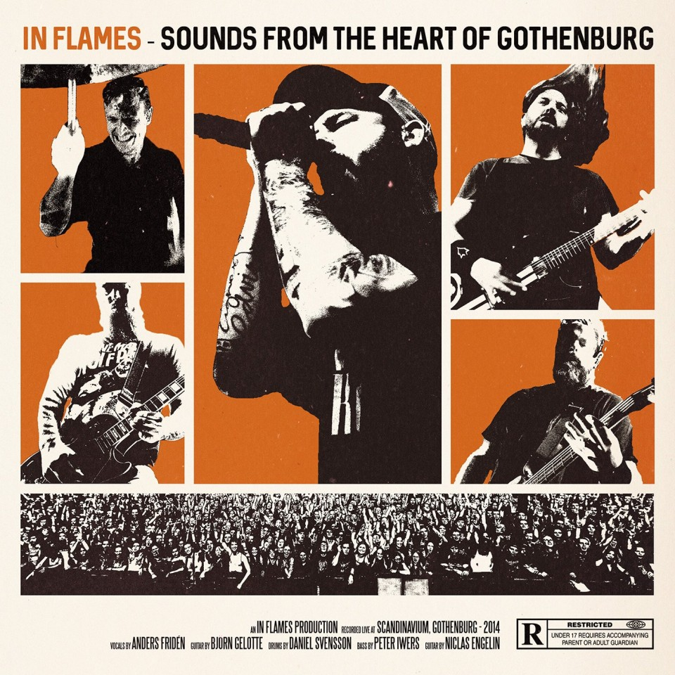 In Flames Sounds From The Heart Of Gothenburg