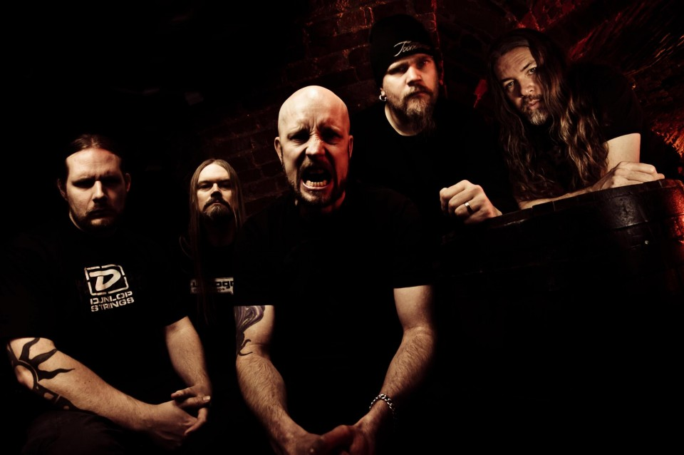 Meshuggah's press photo — Meshuggah's new album title and release date are revealed