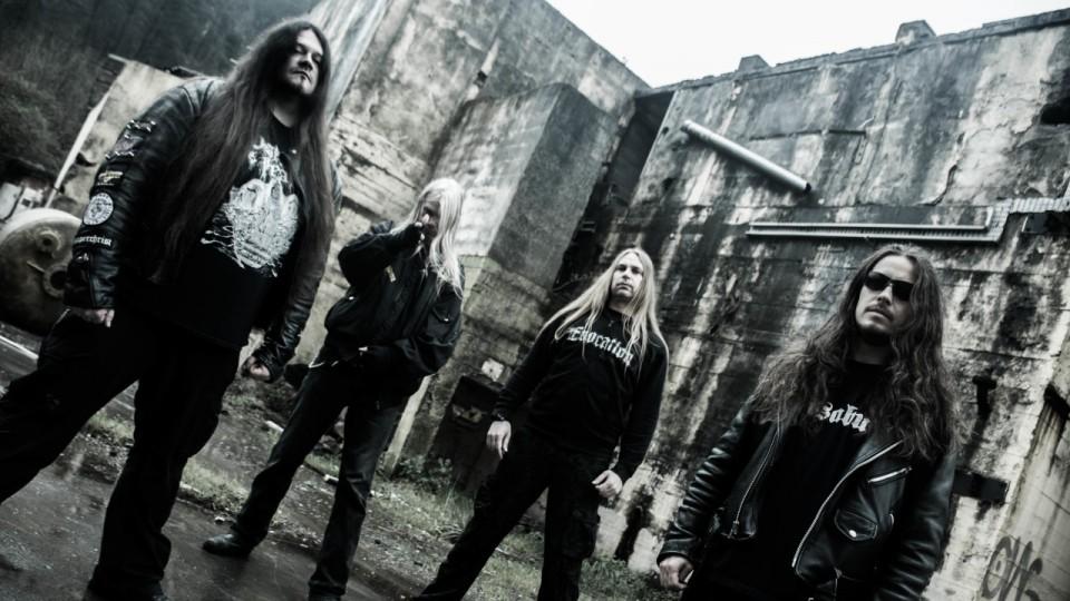 "Asphyx's press photo — Asphyx announce new album ""Incoming Death"" release"