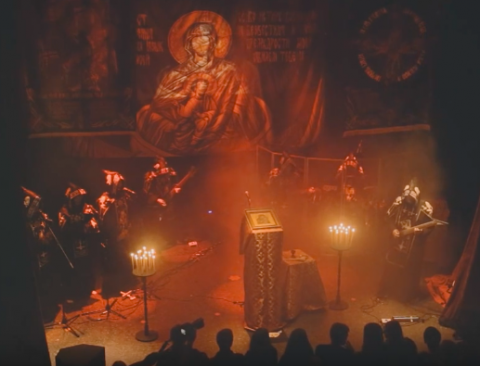 New pro-live video from Batushka show in Kyiv is posted online