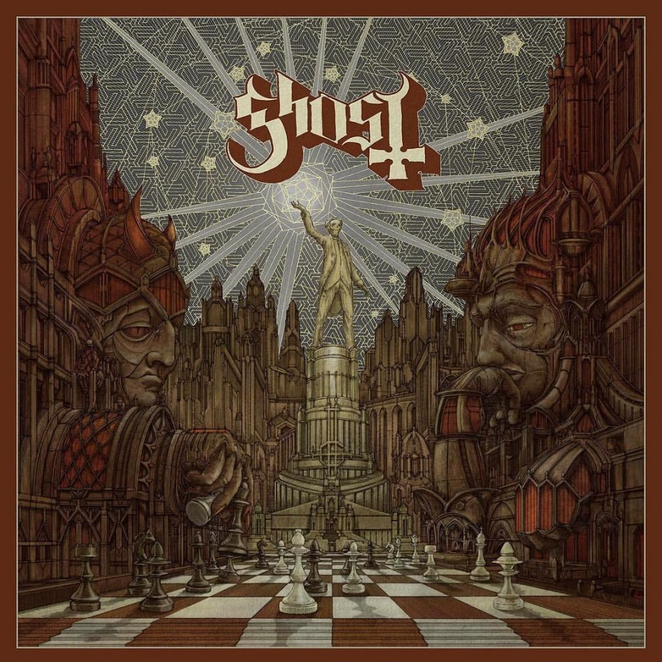 """Ghost present new song """"Square Hammer"""""""