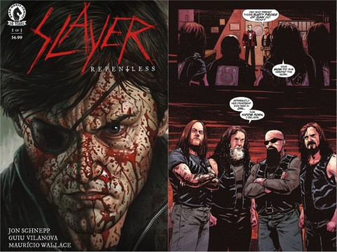 """Slayer: Repentless"" comics come out in January 2017"