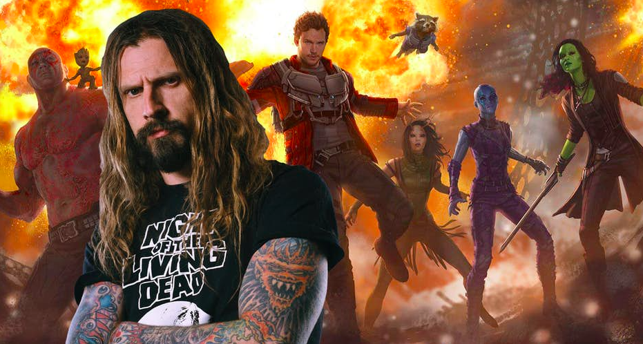 "Photo with Rob Zombie is taken on film.ru — Rob Zombie will lend his voice to role in ""Guardians of the Galaxy"" sequel"