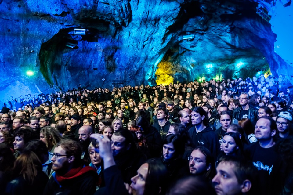 Photo by Iñaki Shoot Em All Photography — Prophecy Productions announces next festival in Stone Age cave
