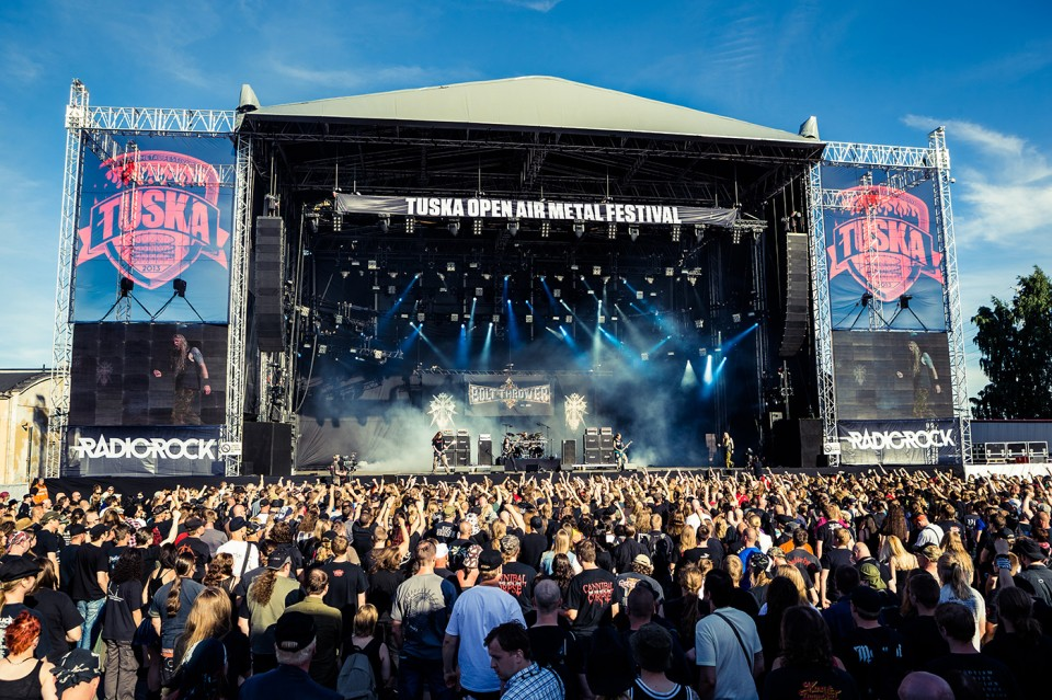 Tuska Open Air — Учасники Amorphis, Nightwish і Children of Bodom записали гімн для Tuska Open Air