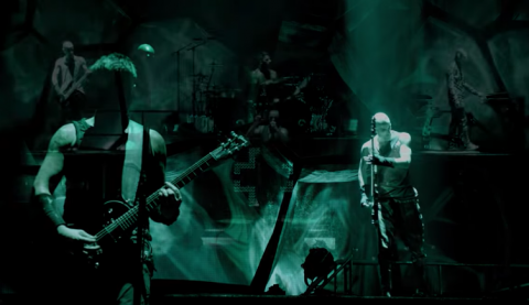 """Mutter"" from concert film ""Rammstein: Paris"" surfaced online"