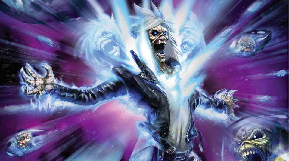 Iron Maiden Comic Book (c) nerdist.com — Iron Maiden comic book to come out this July