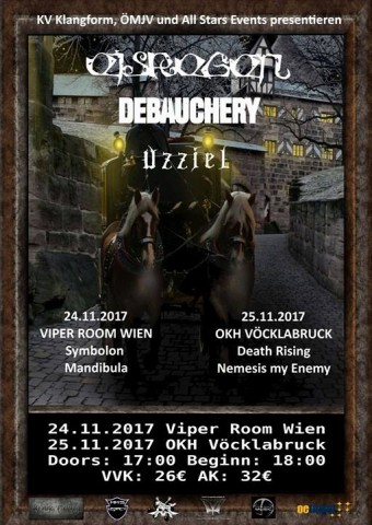 Winter Metal Storm festival to be held in Austria on November 24-25