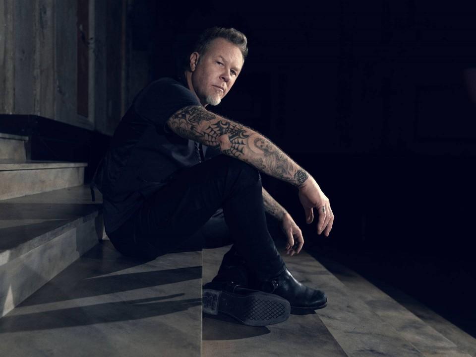 Photo by Herring & Herring — First photo of Metallica's James Hetfield on set of serial killer film appeared online