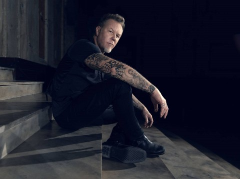First photo of Metallica's James Hetfield on set of serial killer film appeared online