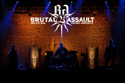 Brutal Assault 23 announces Wardruna, Tormentor, Converge and Ingested