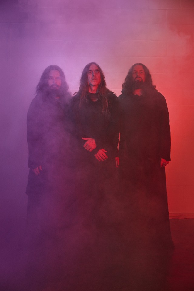 "Photo of Sunn O))) by Ronald Dick — Sunn O))) to play special sets in Berlin in support of new album ""Life Metal"""