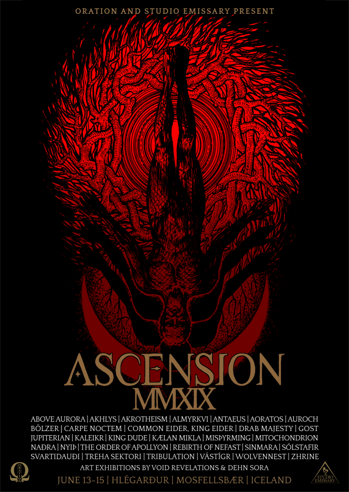 Ascension festival to take place on June 13-15 in Iceland