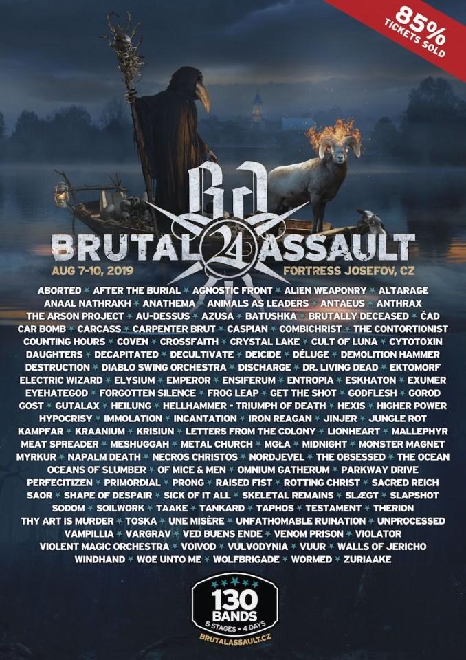 Фестиваль Brutal Assault анонсировал финальный андеграундный состав