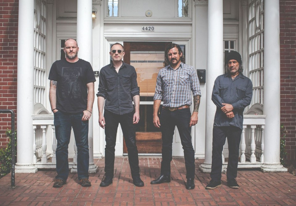 """From left to right: J.W. Walton, D. Anderson, A.J. Gregory, A. Dekker — """"The mix of genres is a symptom of our listening tastes"""": Interview with Khôrada"""