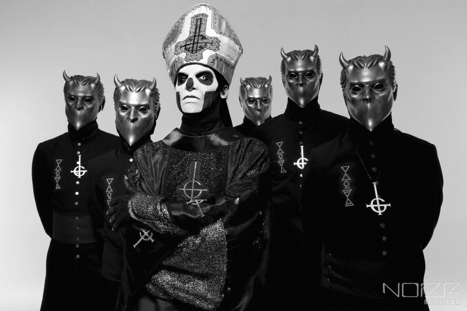 "Ghost press photo — Ghost: ""It's a constant improvement that we're trying to achieve"""