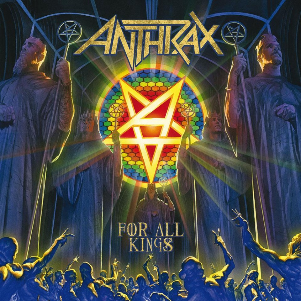 "Рецензія на альбом Anthrax ""For All Kings"""