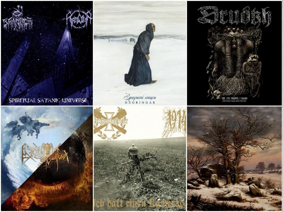 Check 'Em All: Six splits by Ukrainian black metallers