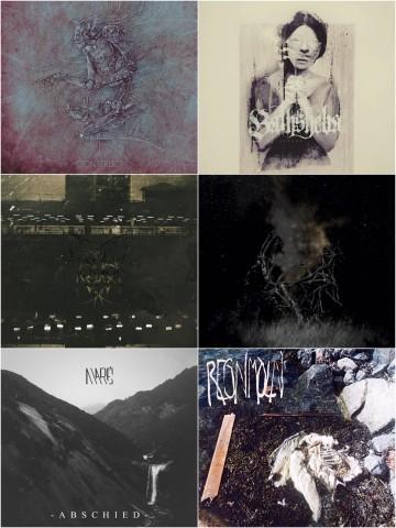 Melancholy, depression, denial: Music from Archivist, Asofy, Bathsheba, Mord'A'Stigmata, Regnmoln, and Maré