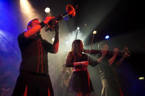 Фотоотчёт с концерта Russkaja и Coffeeshock Company в Вене