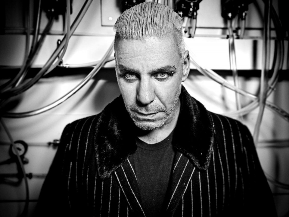 """Till Lindemann — Till Lindemann presents a collection of author poetry """"Messer"""" in Kyiv"""