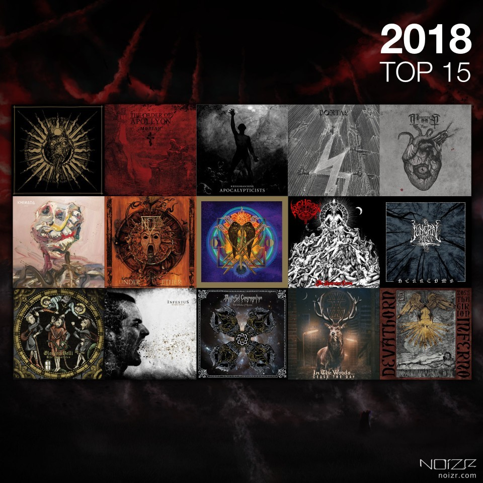 2018 in reviews. Top-15 albums by Dan Thaumitan