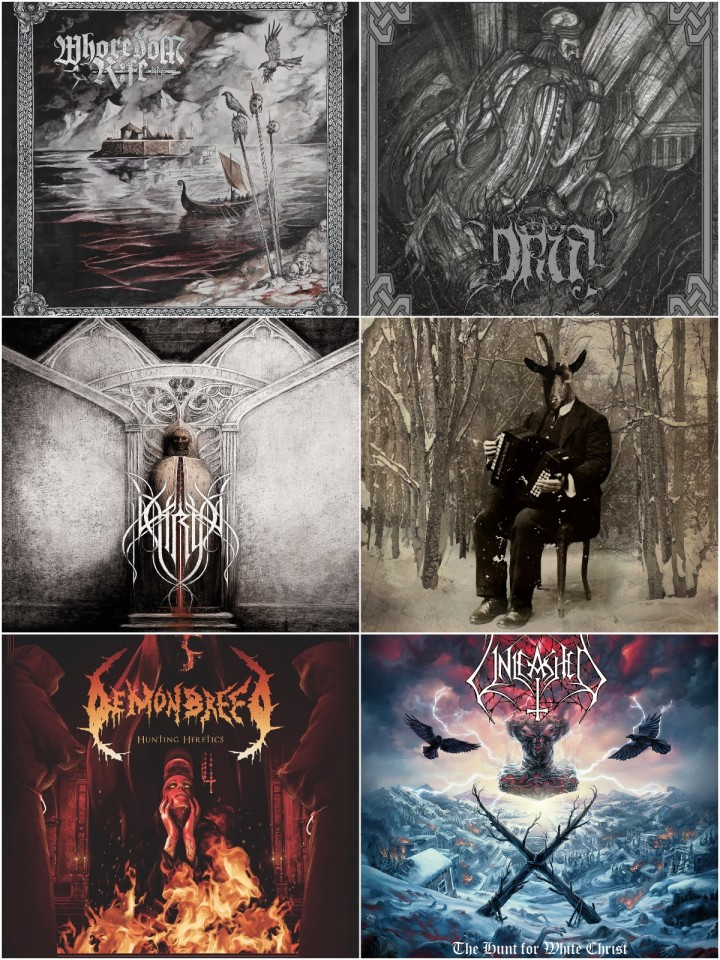 Check 'Em All: Whoredom Rife, Druj, Thron, Demonbreed, Unleashed и Selvans