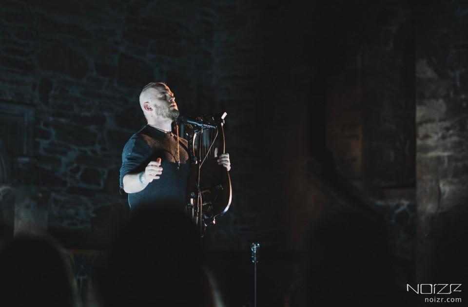 Photo report from Einar Selvik (Wardruna) show in Bergen
