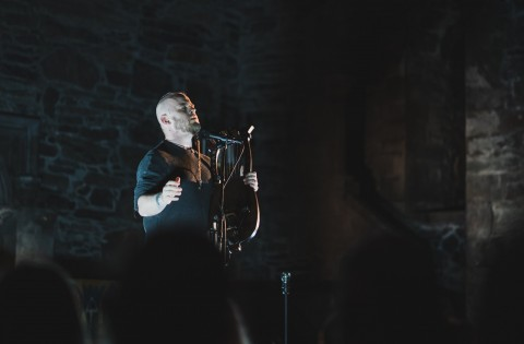 Photo report from Einar Selvik (Wardruna) show in Bergen