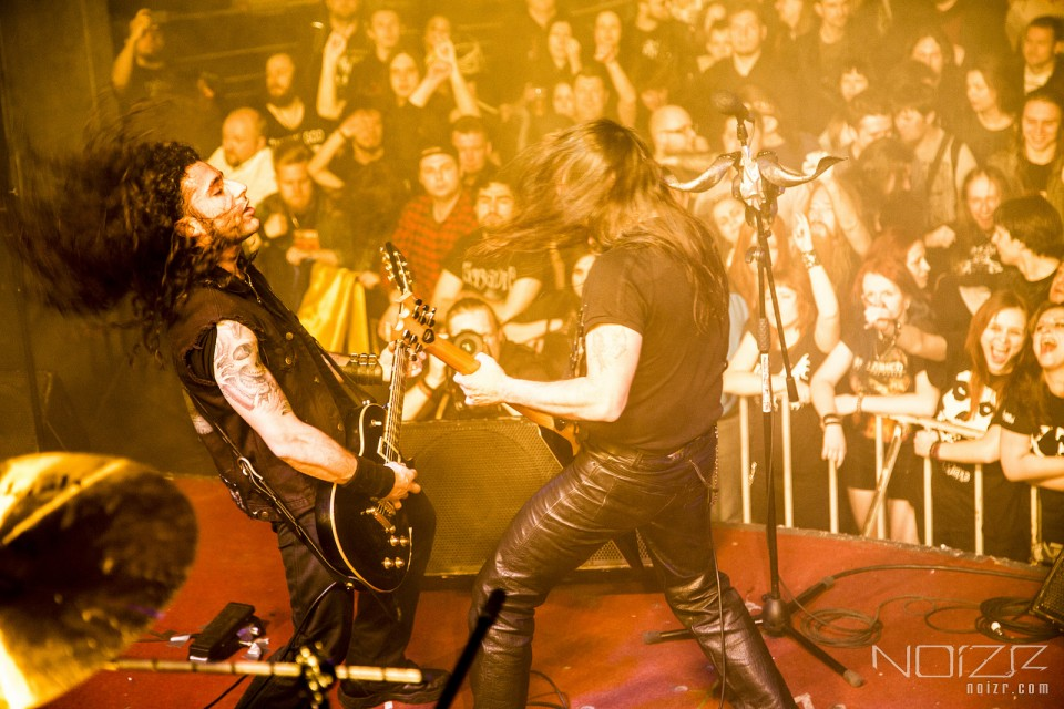 Rotting Christ by Glorf — They've got balls: Metalheads, who gave a show in Kyiv in early 2014