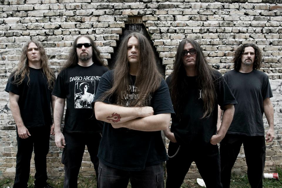Cannibal Corpse's press photo — Power of veto: Forbidden bands in Russia