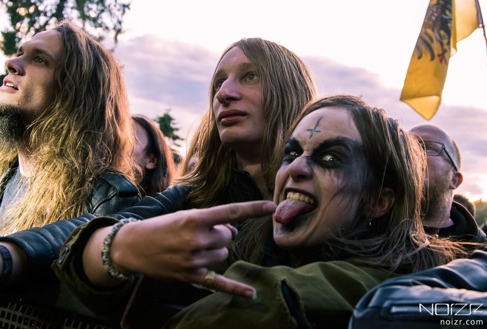 People at Kilkim Žaibu festival, 2018 — Kilkim Žaibu: 5 reasons to visit the annual metal festival in Lithuania