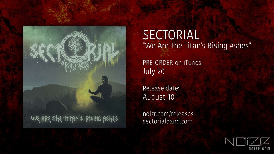 "Sectorial: початок передпродажу альбому ""We Are The Titan's Rising Ashes"""