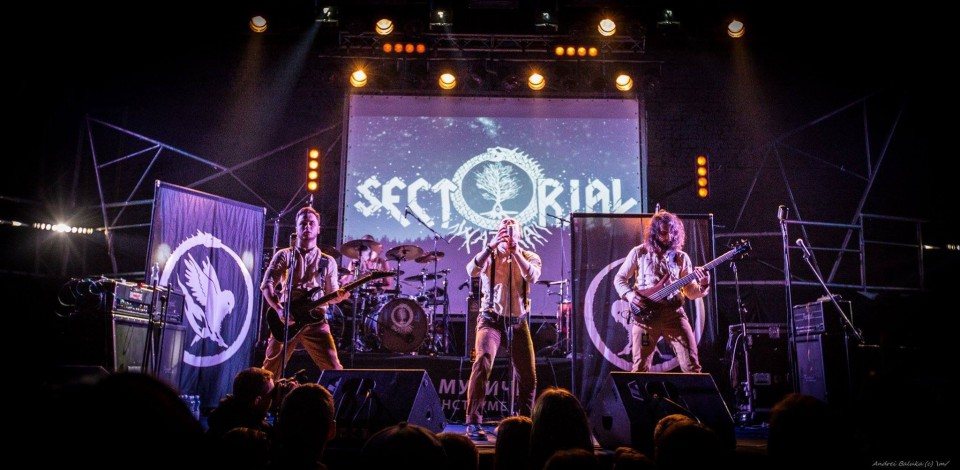 Photo by Andriy Volodymirovich — Sectorial won two awards at The Best Ukrainian Metal Act