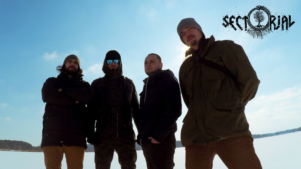 From left to right: Boris, Igor, Dmytro, Ivan — Sectorial begins recording third album